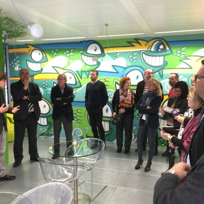 GDE visita l'ecosistema de Innovació d'ESADE